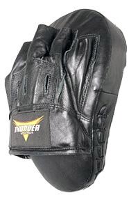 Leather Proforce Thunder Curved Focus Mitt