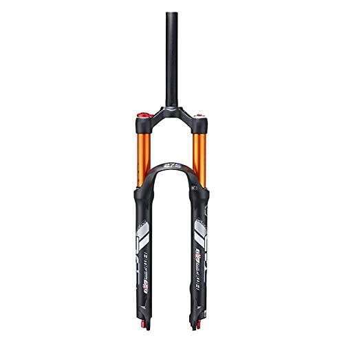 Horquilla de Bicicleta, Horquilla Delantera de Bicicleta de montaña de 26 Pulgadas, Horquilla de suspensión MTB de 27,5', Horquilla de Aire para Bicicleta, Recorrido de 120 mm, QR de 9 mm