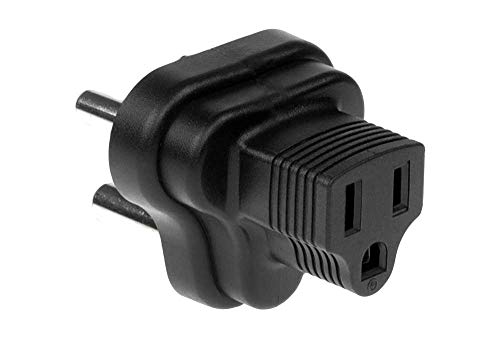 SF Cable YL-8015 USA NEMA 5-15R to India/South Africa 3 Prong Power Plug Adapter