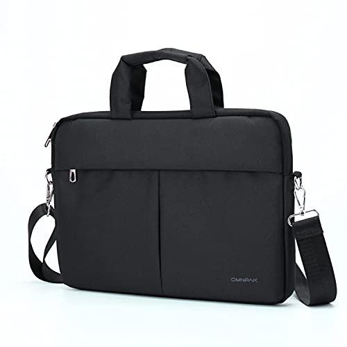 Omnpak - Custodia per computer portatile da 15,6', per Acer Aspire/Predator, Inspiron, Chromebook, resistente all'acqua, per Dell, Hp, Notebook, Surface Book