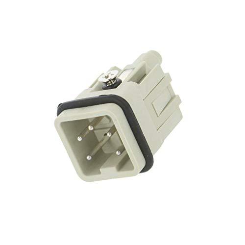 HA-004-M Connector: HDC male HDC PIN: 5 4+PE size 1 10A 250V 0.5-2.5mm2 TE Conne