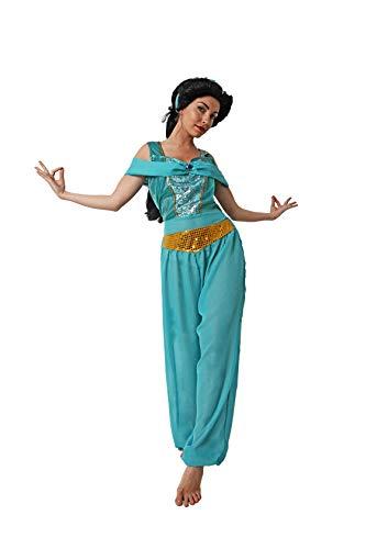 Costumizate! Disfraz de Princesa Arabe Adulto Especial para Fiestas de Disfraces y Carnaval Talla Unica