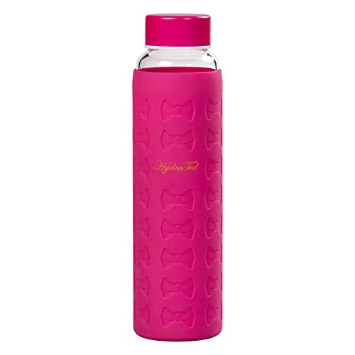 Ted Baker Damen ted972Glas Wasser Flasche, Rosa, Medium