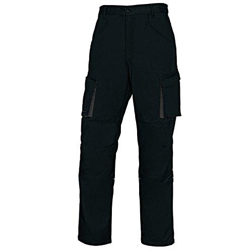 Delta Plus Panoply M2PA2 Mach2 - Pantaloni da lavoro da uomo, taglia L, colore: Nero