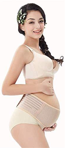 XYQ Embarazo Material de Apoyo prenatal Cuidado de Alivio del Dolor Transpirable Ajustable bebé y el Embarazo, Correa de Soporte del Embarazo for Las Mujeres Embarazadas, 2022 (Color : B(Pink))