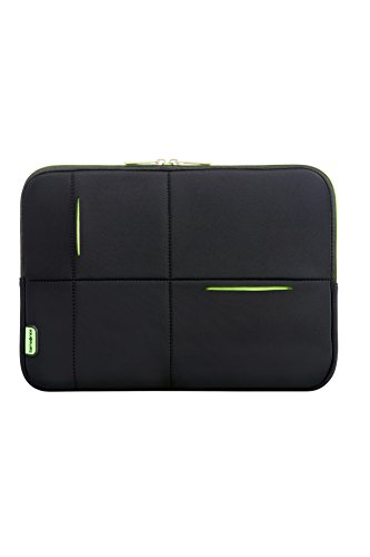 Samsonite - Airglow Sleeves 14.1 Zoll, Umhängetasche, 36 cm, 4 L, Black/Green