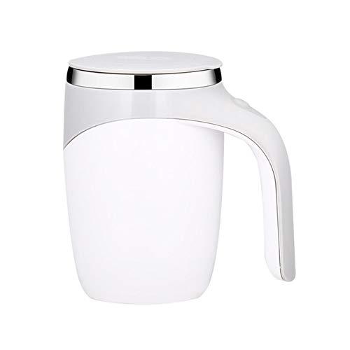Selbstrührender Kaffeebecher, 380 ml, 304 Edelstahl, selbstrührend, für heiße Kakao, Kaffee, Schokolade, Matcha, Latte, Tee