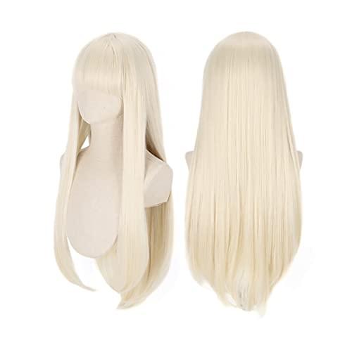 C-ZOFEK Yomoduki Runa Cosplay Wig Light Blonde Long Hair for Hallween or Daily (blonde)
