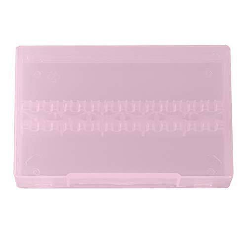 14 gaatjes nagelpolijstkop, opbergdoos, draagbare schuurmachine, foundation, boren, box roze