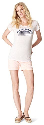 Noppies Damen Shorts OTB Doris Umstandsshorts, Rosa (Light Rose C092), 36 (Herstellergröße: 28)