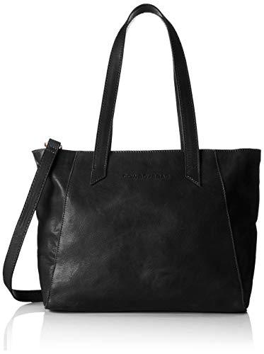Cowboysbag Damen Bag Jenner Henkeltasche Schwarz (000100 - Black)