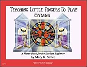 Teaching Little Fingers to Play Hymns - Book/CD Book With CD