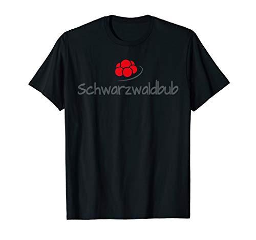 Schwarzwaldbub - Geschenkidee Bollenhut Karneval Schwarzwald T-Shirt