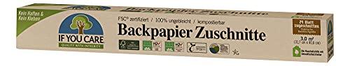 If You Care Backpapier Backblech Zuschnitte - 100% ungebleicht aus FSC Papier