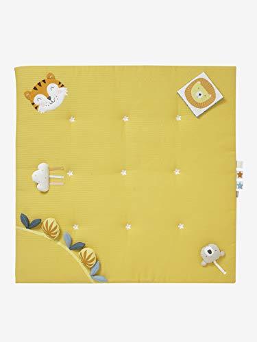 Vertbaudet Activity-Decke ,,Tropik ohne Spielbogen senfgelb ONE Size