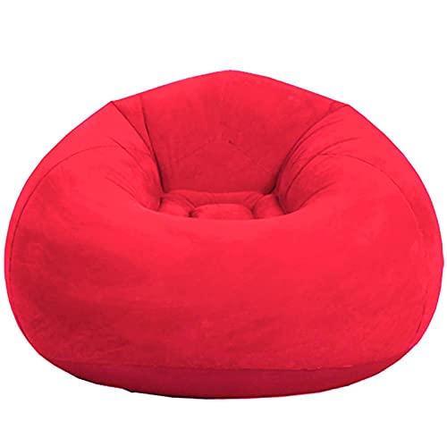 CCHHL Sofá Hinchable, Sofa Puff Plegables Individuales para Acampar de Ocio, Sillon...