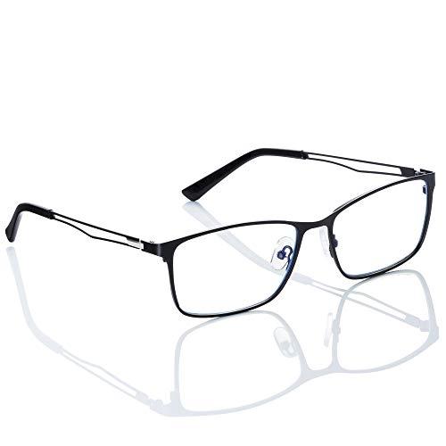 LeVont - Gafas de filtro de luz azul anti luz azul para juegos, para ordenador, pantalla de televisión y teléfono móvil, protección extremadamente alta, anticansancio, filtro Bluelight, unisex, unisex