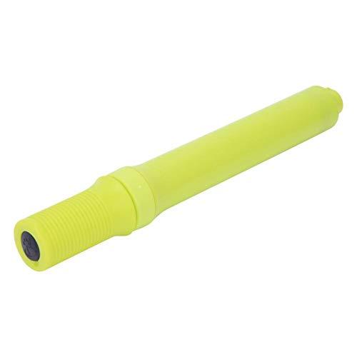 Zweiwege-Handpumpe Praktische Mini-Fahrradpumpe, geeignet für Mountainbike und Basketball(yellow)