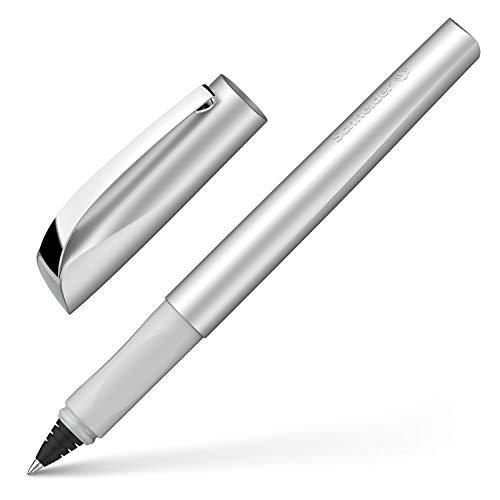 Schneider Ceod Shiny Rollerball Pen - Right and Left Handed - Medium Line Width - Royal Blue Ink Cartridge steingrau