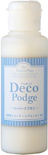 デコパージュ液 デコポッジ ペーパーナプキン 100ml AG-4431