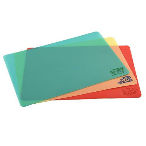 Norpro Cut N' Slice Flexible Cutting Boards, Set of 3