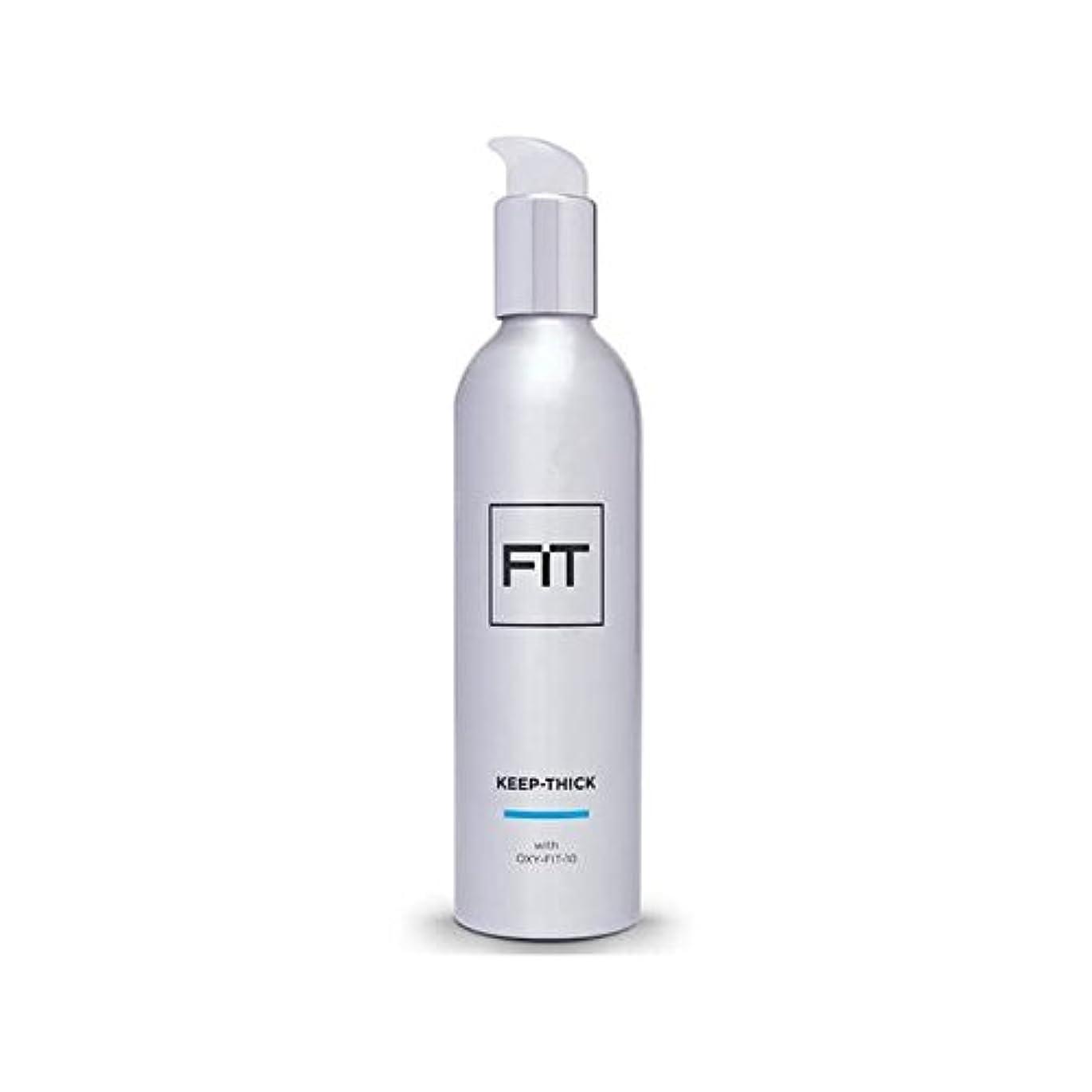 鳴らす遅らせるメカニック太いヘアトリートメント250ミリリットルを維持フィット x2 - Fit Keep Thick Hair Treatment 250ml (Pack of 2) [並行輸入品]