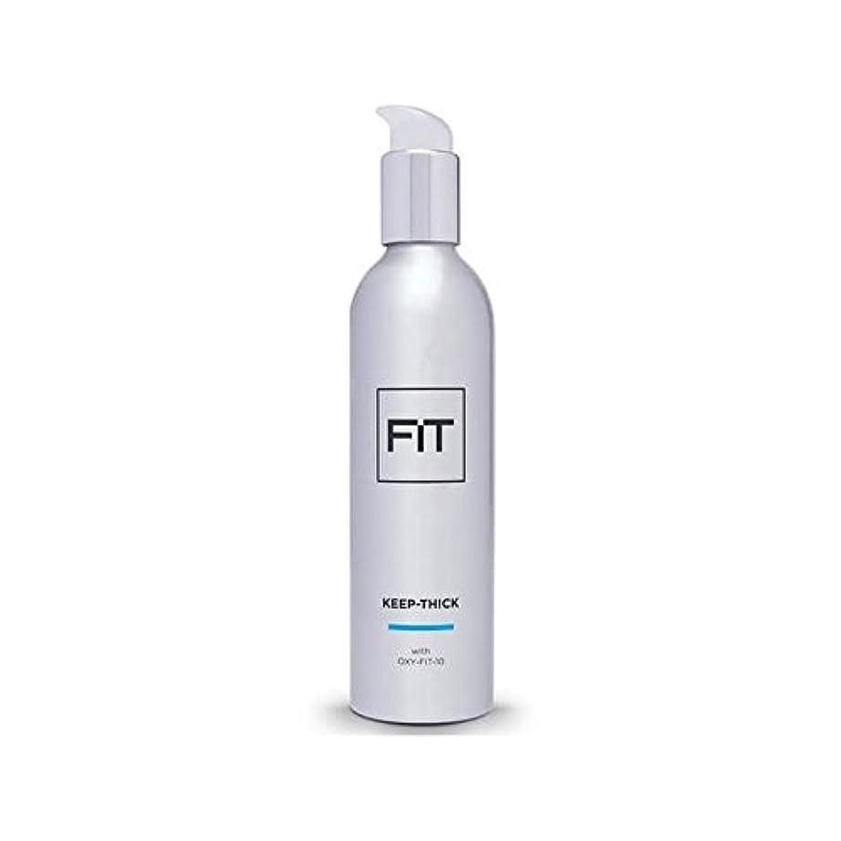 モンスター修正ガス太いヘアトリートメント250ミリリットルを維持フィット x4 - Fit Keep Thick Hair Treatment 250ml (Pack of 4) [並行輸入品]