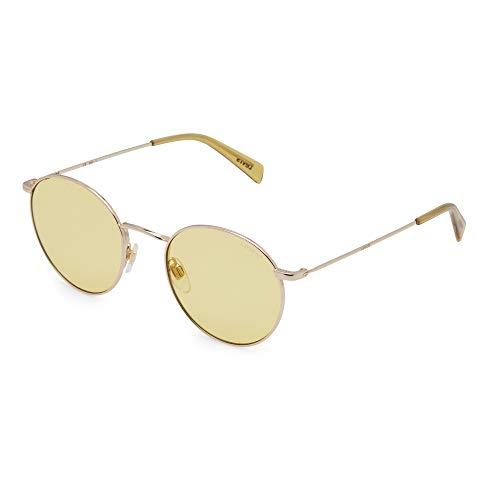 LEVI'S EYEWEAR Unisex-Kinder LV 1005/S Sonnenbrille, Gold Yell, 52