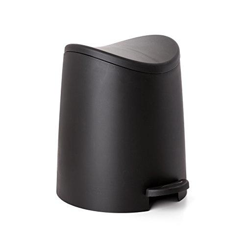 TATAY 4470027 - 3L Pequeño Cubo de baño con Apertura a
