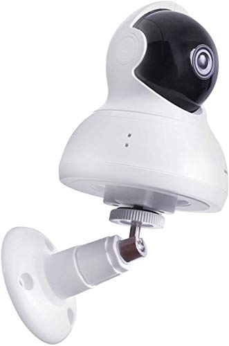 Staffa per Montaggio a Parete per YI Dome Camera e YI Cloud Home Camera, Supporto di Montaggio a Parete Regolabile Protettivo a 360 Gradi per YI Camera