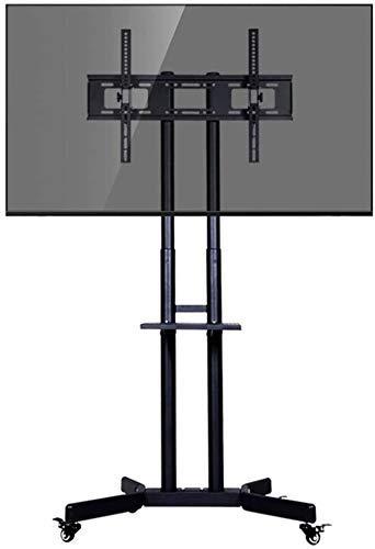 RTYUI Mueble De TV Independiente para Hoteles, Bares, Gimnasios, Carro Rodante, Soporte De TV para Televisores De Plasma/LCD/Led OLED, 32 Pulgadas / 42 Pulgadas / 50 Pulgadas / 60 Pulgadas