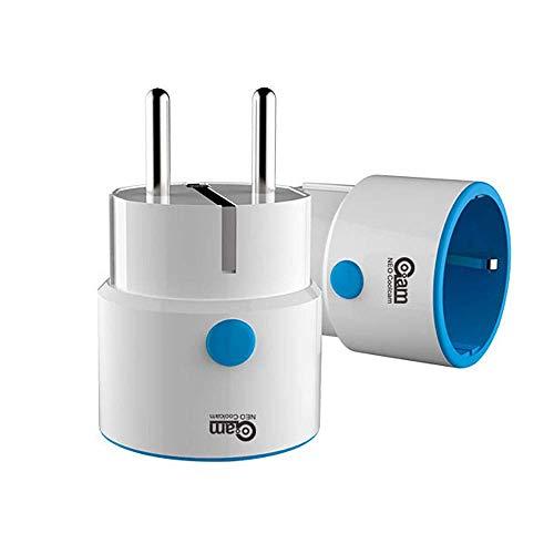 FUO DHUGER Power-Sockel Smart Adapter Plug Wireless Fernbedienung kompatibel mit Z-Welle 300 Serie...