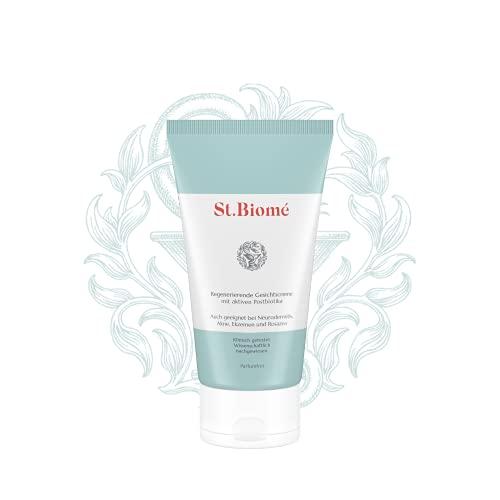 St. Biomé RegenerierendeGesichtscreme(50 ml),Hautcremebei trockener und sensibler Haut, Neurodermitis, Akne, Ekzemen und Rosazea, zur intensivenHautpflege
