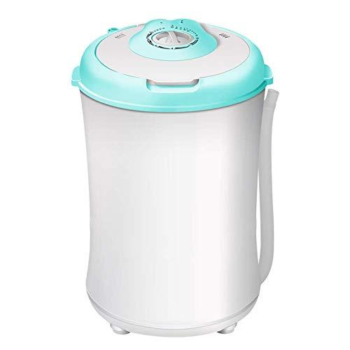 XHCP Ahorro de energía y Agua Mini Lavado portátil Deshidratación Lavadora integrada 3.2Kg...