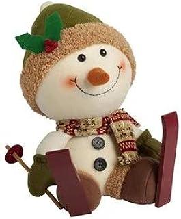 Image of Cute Plush Snowman Decoration
