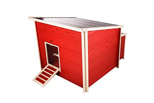 ecoFLEX Fontana Chicken Barn, Jumbo, Red