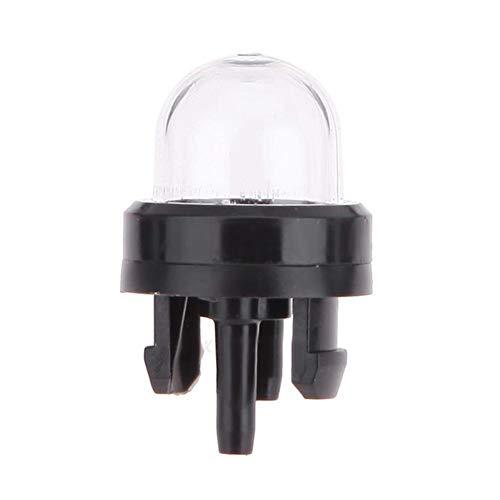 Bombilla de imprimación bomba de combustible transparente Carburador Burbuja de aceite compatible con Stihl Ryobi Walbro Husqvarna Carburador para motosierras Recortadora Desbrozadora Herramie