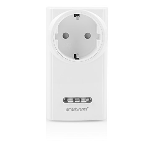 Smartwares SH5-RPD-02A W SmartHome Funk-Steckdimmer 200 Watt, 230 V, Weiß