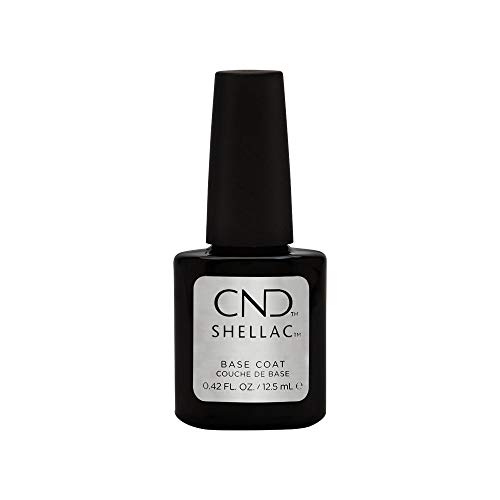 Creative Nail Shellac UV Base Coat, 0.42 Fluid Ounce by Creative Nail