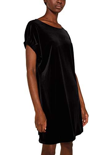 ESPRIT Damen 129Ee1E019 Kleid, Schwarz (Black 001), (Herstellergröße: 42)