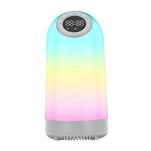 Topwor Luz de Altavoz Bluetooth, luz Nocturna Colorida para niños con Altavoz...