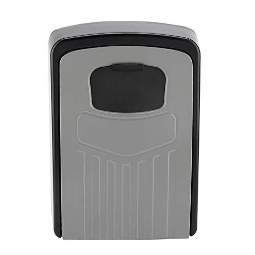 Caja De Llaves Montaje De Pared 4 Dígitos Combinación Contraseña Caja De Teclas De Seguridad Lock Organizador Herramienta De Caja
