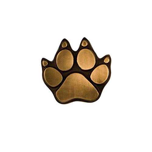 Dog Paw Doorbell Ringer - Bronze