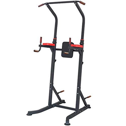 Find Bargain Wenini Pull-Ups Machine Bars Dip Station Power Tower 6 Sections Adjustable Height for H...