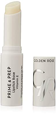 Golden Rose Nourishing Prime & Prep Lipstick Lip Primer Base and Conditioner Enriched With Vitamin E