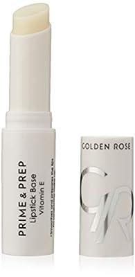 Golden Rose Nourishing Prime & Prep Lipstick Lip Primer Base and Conditioner Enriched With Vitamin E