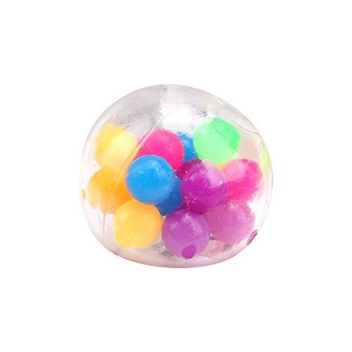 muskmelon Fidget Toy Barato Pelota Antiestrés Manos Stress Ball Juguetes Antiestrés para Dedos Bolas Sensoriales para Apretar para Aliviar el Estrés Mejorar el Enfoque