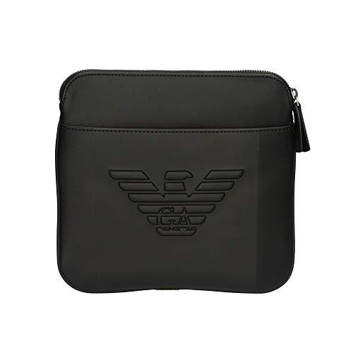 EMPORIO ARMANI Y4M177-YFE6J-81074 Bolso pequeño/Cartera de Mano Hombres Negro - única - Bolso pequeño/Cartera