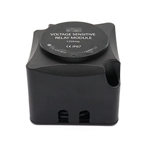 GUOPING ZHUQI Relé Sensible al Voltaje VSR Módulo VSR 12V 125AMP-Relé de Carga automática Ayuda Evite la batería Muerta a Prueba de Agua