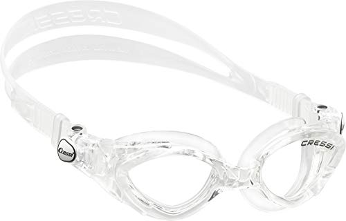 Cressi Kinder Schwimmbrille King Crab, transparent, One size, DE202260